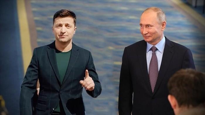 встреча Путина и Зеленского