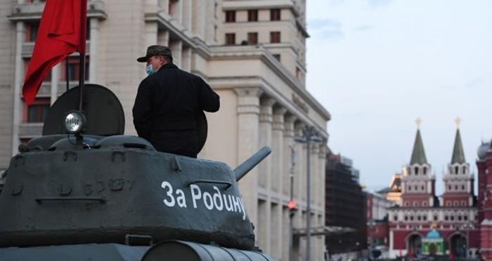 Тренировка парада Победы 2021 в Москве расписание 7 мая техника
